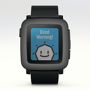 Pebble Time mit Update