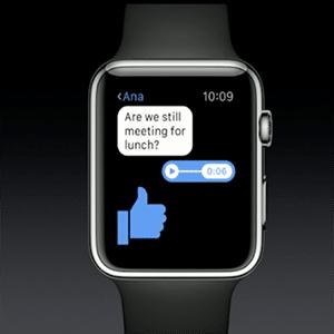 Facebook Messenger für die Apple Watch verfügbar