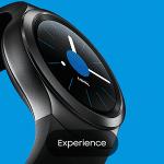 Samsung Gear S2 mit der Experience App virtuell anprobieren