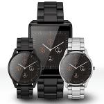Runde und eckige Oxy Smartwatch mit offenem ELF OS