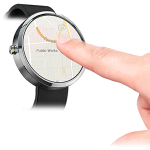 Queexo FingerAngle bringt neues Smartwatch Touch-System