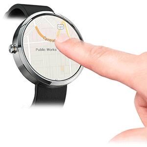 Queexo FingerAngle bringt neues Smartwatch Touch-System