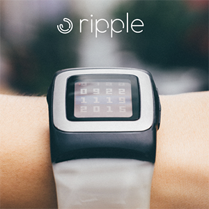 Ripple Solar-Armband für Pebble Time vorgestellt