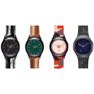 Neue Samsung Gear S2 Armbänder vorgestellt