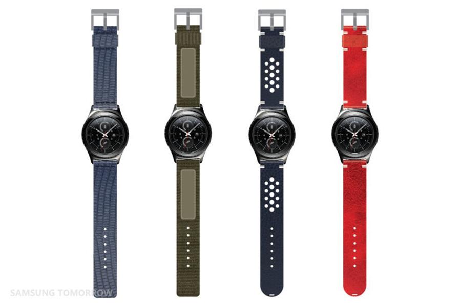 Neue Armbänder für Samsung Gear S2 vorgestellt