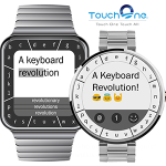 TouchOne Keyboard revolutioniert Schreiben auf Smartwatch
