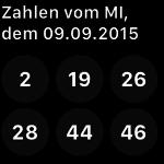 Lotto24.de – Lottozahlen auf der Apple Watch