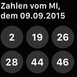 Lotto24.de - Lottozahlen auf der Apple Watch