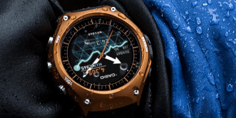 Alle Infos zur Casio Smartwatch (WSD-F10) mit android wear