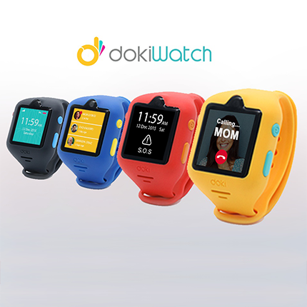 dokiwatch ist die vielversprechendste smartwatch f r kinder. Black Bedroom Furniture Sets. Home Design Ideas