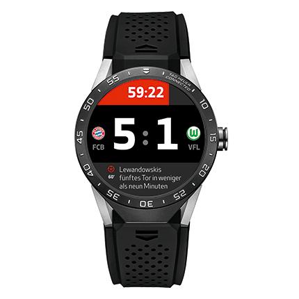 Tag Heuer Bundesliga Smartwatch App veröffentlicht