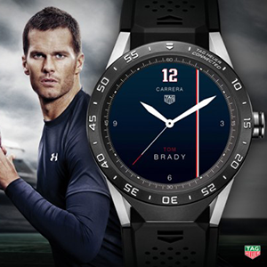 Exklusive Tag Heuer Connected Watchfaces von Sportlern