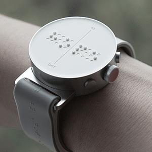 DOT ist eine Smartwatch für Blinde mit Braille-Zeichen