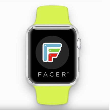 apple watch watchfaces facer kommt f r die smartwatch. Black Bedroom Furniture Sets. Home Design Ideas