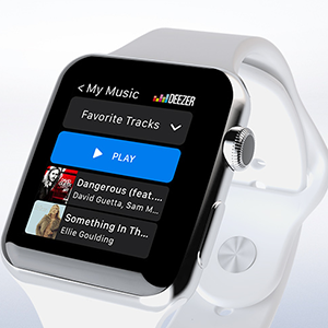 Deezer Apple Watch App erschienen
