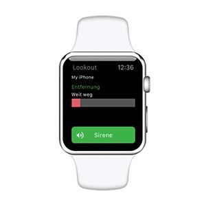 iPhone mit der Apple Watch finden: Lookout machts möglich