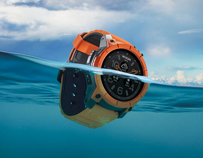 Nixon Smartwatch Nixon Mission