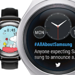 Neue Samsung Gear S2 Watchfaces: Twitter Trends & Snoopy