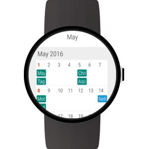 Wear Calendar: Die beste Smartwatch Kalender App bis jetzt