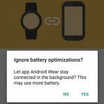 Android Wear 1.5 wird Doze-Modus kompatibel