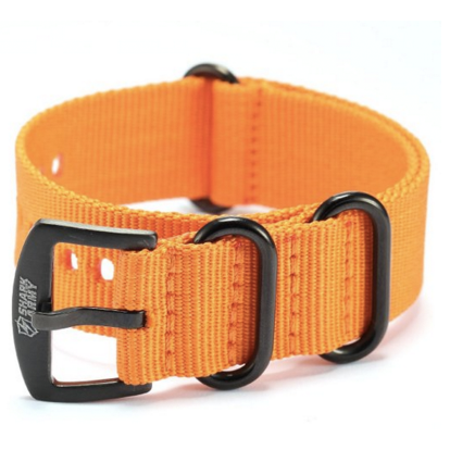 Shark Army Armband Orange aus Nylon