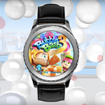 Bubble Bash 3 mit digitaler Lünette der Gear S2 steuern