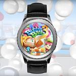 Bubble Bash 3 mit digitaler Lünette der Gear S2 steuern