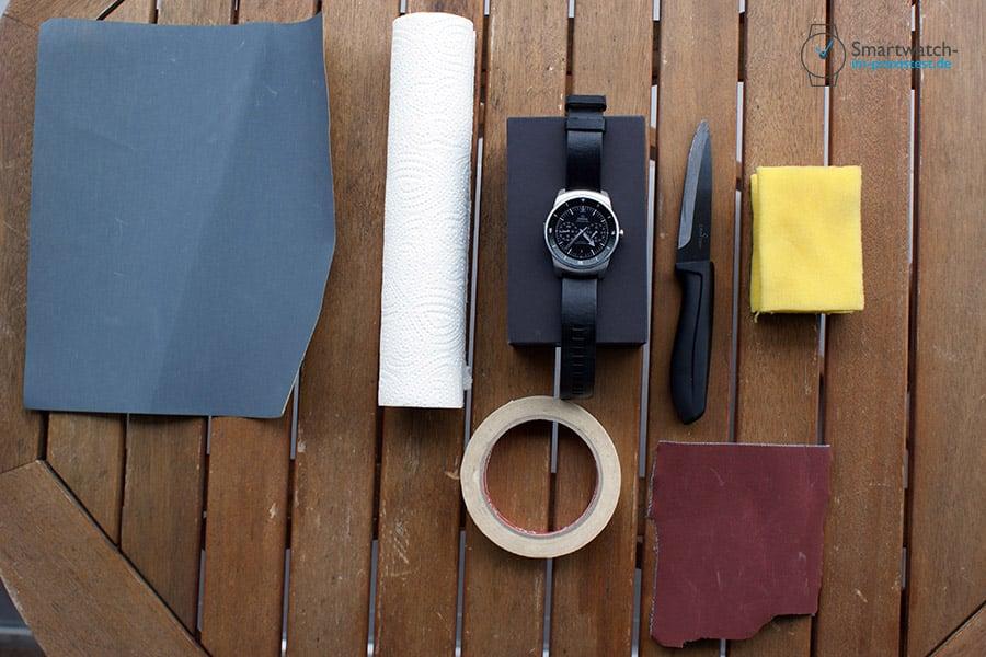 DIY: Wie aus einer LG G Watch R eine Luxus Smartwatch wird