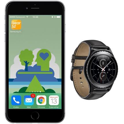 Samsung Gear S2 iPhone App ist da (Leak)
