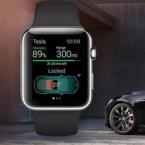 Energi App: Tesla über Siri und Apple Watch steuern