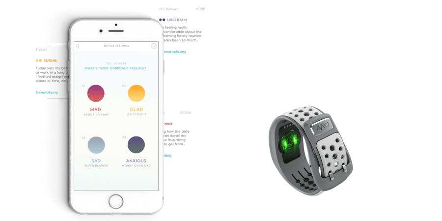 Mindset App misst den Stresslevel über Smartwatch