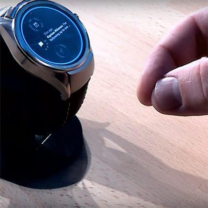 Project Soli zeigt zukünftige Gestensteuerung für Smartwatch
