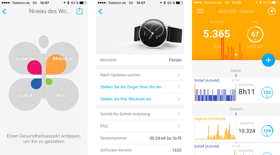 Withings Activité Test