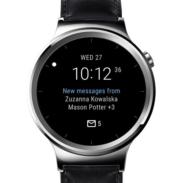 Microsoft stellt Outlook Watchfaces für android wear vor