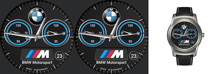 Grenzwertig aber doch irgendwie cool - das BMW M Watchface
