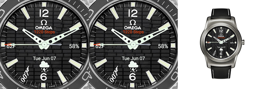 Tolle James Bond Variante der Omega Speedmaster - leider ohne Always-On-Modus