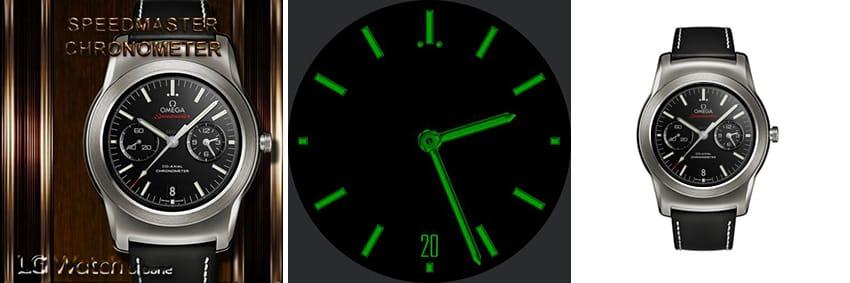 Die Omega Speedmaster ist eine traumhaft schöne Uhr - der Always-On-Modus ist aber leider nicht so gut gelungen