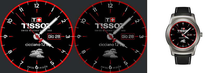 Replika eines bekannten Tissot-Modells