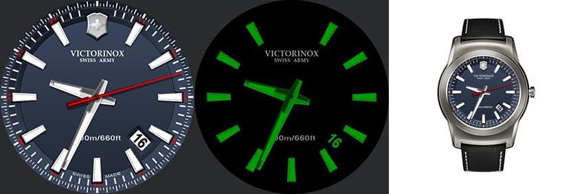Die Uhren von Victorinox sind schon fast so bekannt wie die Taschenmesser - hier eine echt gute Replika