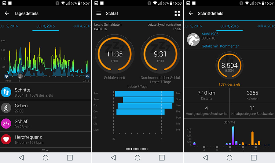 Garmin vivoactive HR Test