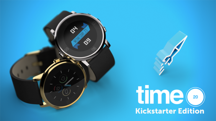 Pebble Kickstarter Kampagne