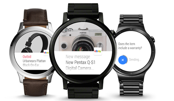 Ebay Android wear App