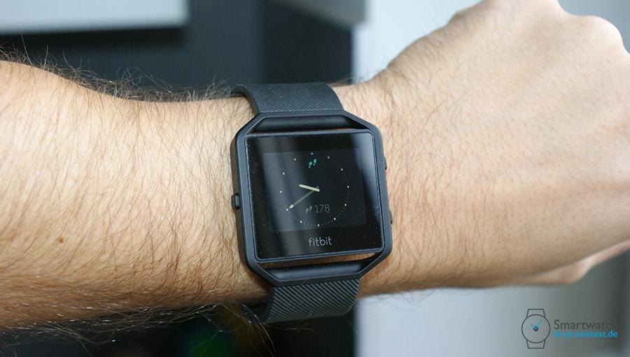 Fitbit Blaze Test