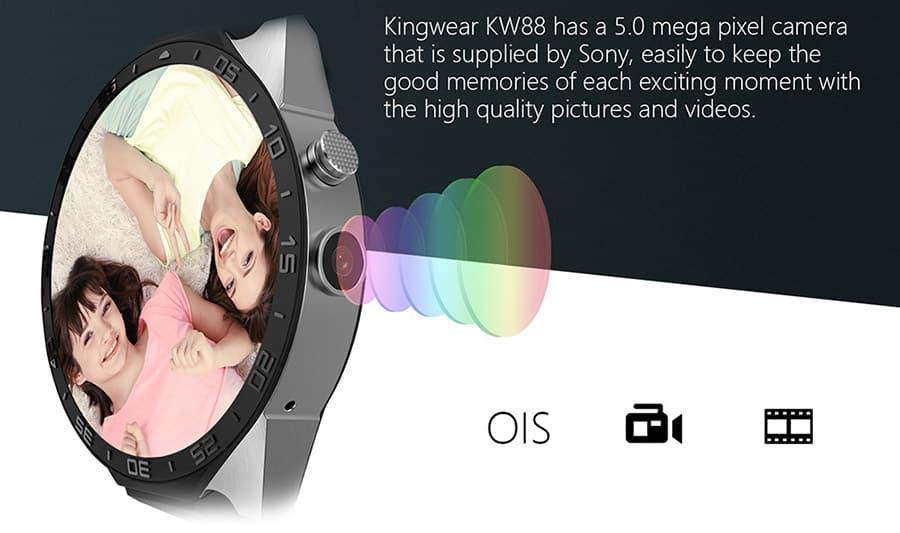 KingWear KW88: Günstige Alternative zur Tag Heuer Connected