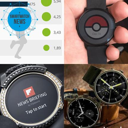 Die Smartwatch News vom 01.08.2016