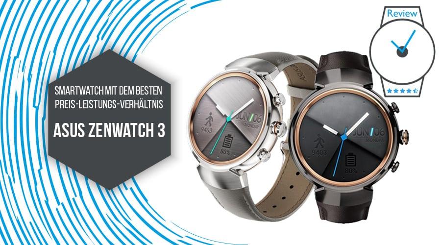 ASUS ZenWatch 3 Smartwatch mit dem besten Preis-Leistungs-Verhältnis