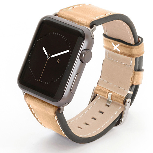 Apple Watch Lederarmband creme