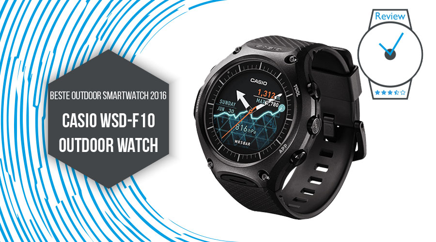 Casio WSD-F10 Smart Outdoor Watch 2016