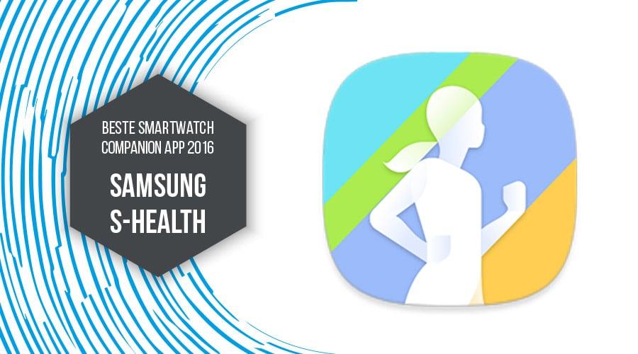 Samsung S-Health beste Companion App 2016