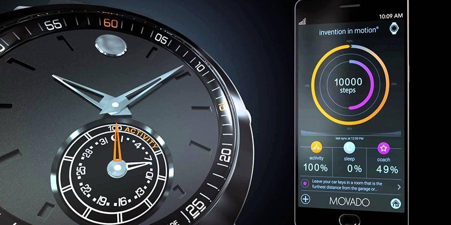 Movado Hugo Boss Tommy Hilfiger Smartwatch